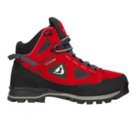 Buty trekkingowe damskie Bergson Kakka Mid STX - Red/Black