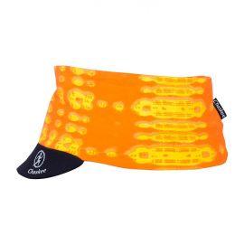 Stretchy Visor Head Band Pop pomarańczowy
