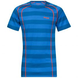 Niebieski w paski (Ocean Striped / Koi Orange)