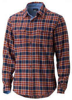 Koszula męska flanelowa Marmot Jasper Flannel LS niebieski w kratkę
