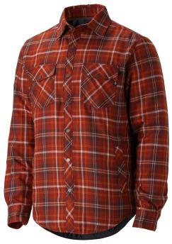 Koszula męska flanelowa Marmot Arches Insulated LS ceglany w kratkę