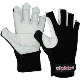Rękawiczki do Via Ferraty Alpidex Black Boa
