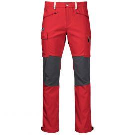 Spodnie męskie Bergans of Norway Nordmarka Hybrid Pants - Red Sand/Solid Dark Grey