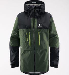 Kurtka membranowa męska Haglöfs Roc Nordic GTX Pro Jacket - Fjell Green/True Black