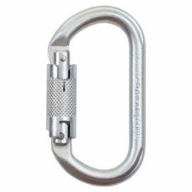 Karabinek Climbing Technology Oval stalowy Twist Lock