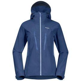 Kurtka softshellowa damska Bergans of Norway Cecilie Mountain Softshell Jacket - Thunder Blue / Light Thunder Blue