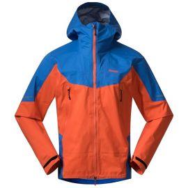 Kurtka membranowa męska Bergans of Norway Senja 3L Jacket - Bright Magma / Strong Blue