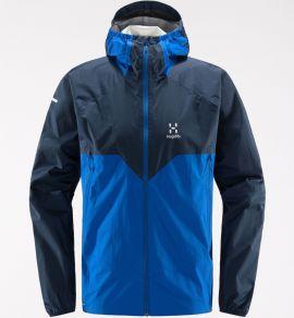 Kurtka membranowa męska Haglöfs L.I.M Proof Multi Jacket Men - Tarn blue/storm blue