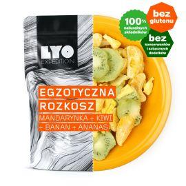 Liofilizat LyoFood Owoce liofilizowane egzotyczna rozkosz