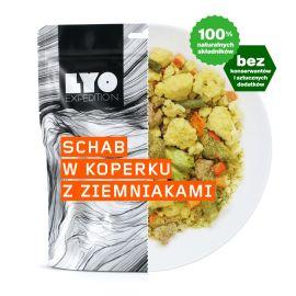 Liofilizat LyoFood Schab w koperku z ziemniakami 370g