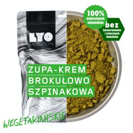 Liofilizat LyoFood Krem szpinakowo-brokułowy 370g