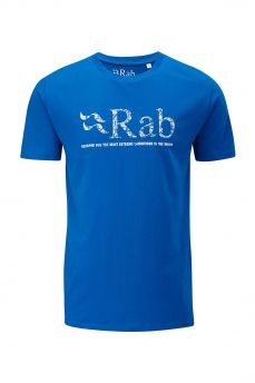 Rab Map Logo niebieski - maya
