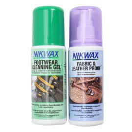Zestaw NIKWAX Fabric & Leather Proof + żel czyszczący