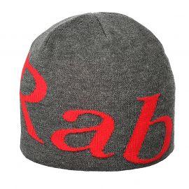 Rab Primaloft Beanie szaro-czerwona
