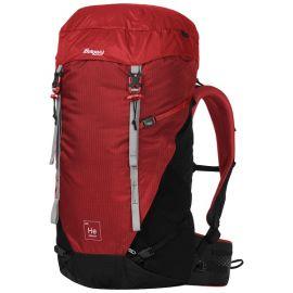 Plecak trekkingowy męski Bergans of Norway Helium V5 40 - Red Sand / Black / Aluminium