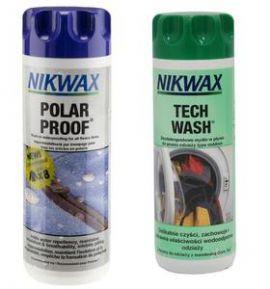 Zestaw pielęgnacyjny NIKWAX Tech Wash+Polar Proof