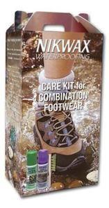 Zestaw pielęgnacyjny do obuwia z tkaniny i skóry NIKWAX