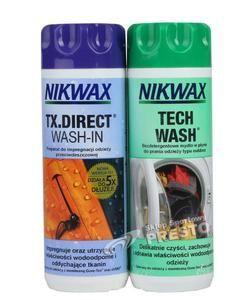 Zestaw pielęgnacyjny NIKWAX Tech Wash+TX. Direct Wash-In