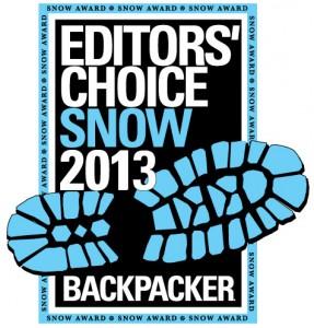 Nagroda redaktora magazynu BACKPACKER 2013